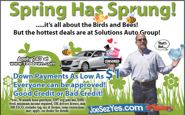 Spring Has Sprung Promotion Graphic